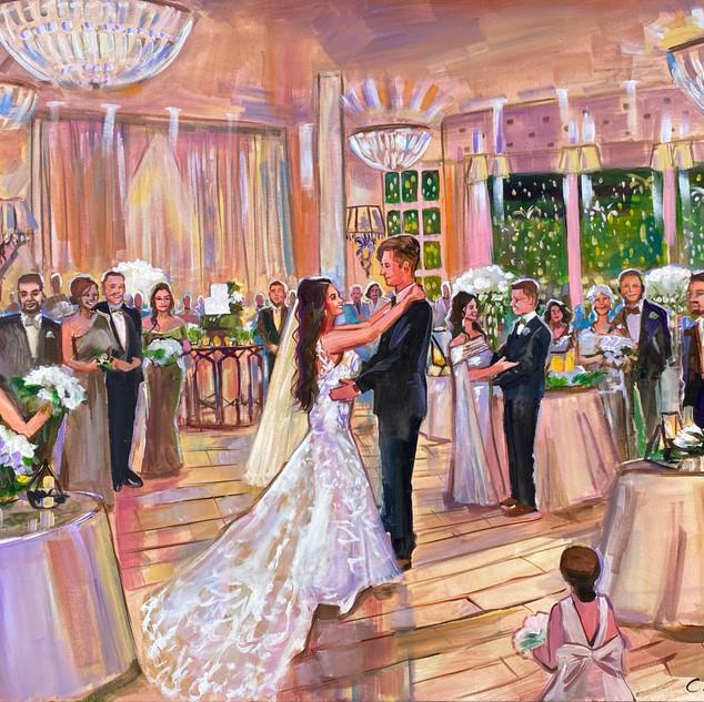 Live Wedding Painter Arizona