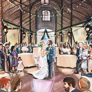 LIVE WEDDING PAINTING HOUSTON