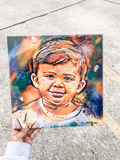 12 x 12 Digital Print of Your Favorite Photo to Canvas