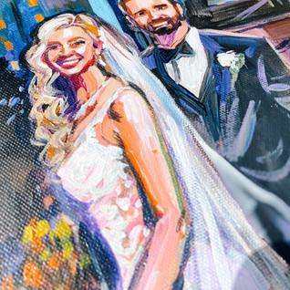 WEDDING PORTRAIT PAINTER