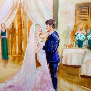 WEDDING PAINTER DALLAS