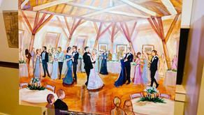 Florida Wedding Painting