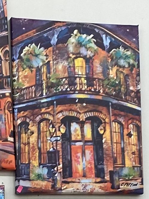 16 x 20 French Quarter Home