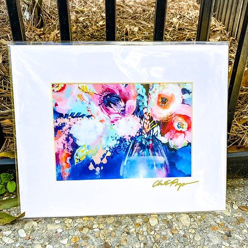 Floral & Vine 5 x 7 inch art