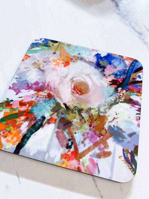 Floral& Vine Coaster