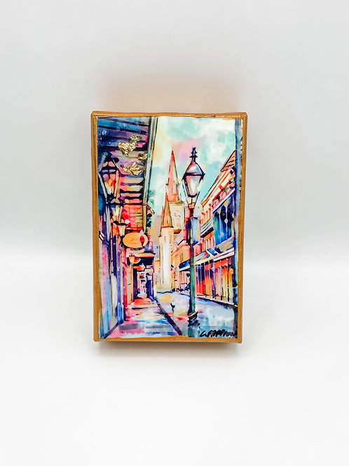 French Quarter Stroll 4 x 6 inches