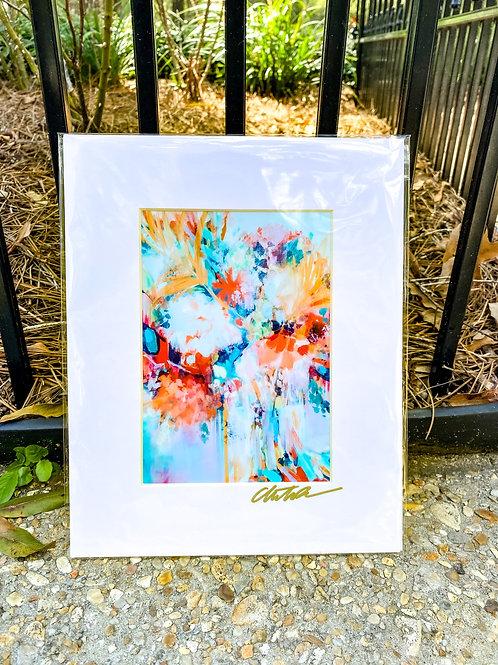 Floral & Vine 5 x 7 inch art image