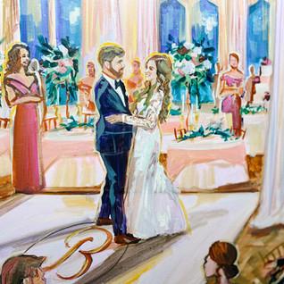 LIVE WEDDING PAINTER UTAH