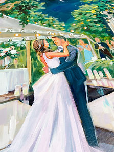 Live Painting at your reception