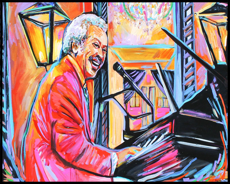 Allen at piano