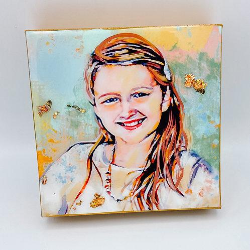 FLASH SALE Custom 6x 6 inch canvas