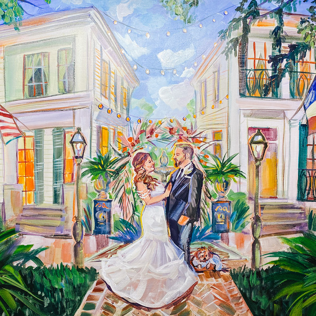 Live Wedding Painter