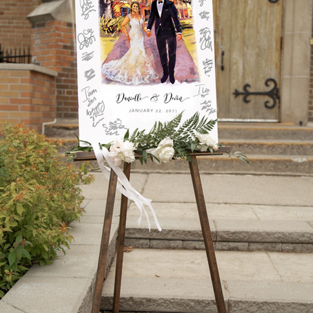Wedding Guestbook Alternative