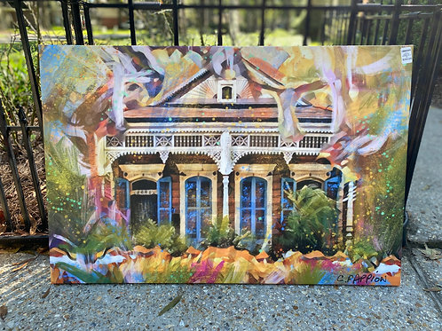 FLASH SALE 24 x 36 Mid City House