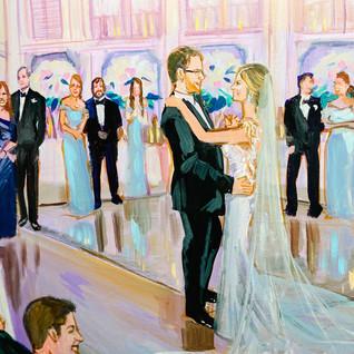 Plein Air Wedding Artist