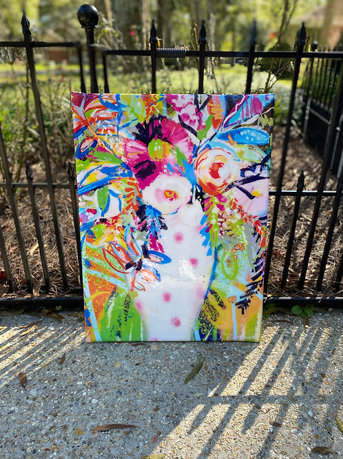 FLASH SALE 20 x 30 inch floral print