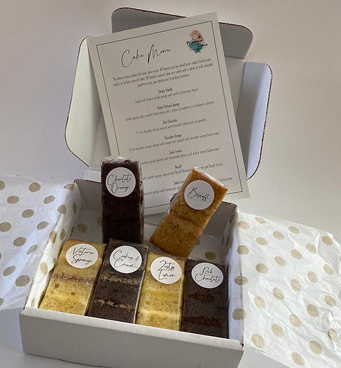 Cake Sample Box