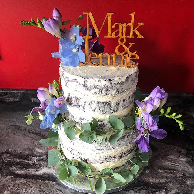 Vegan and gluten free wedding cake