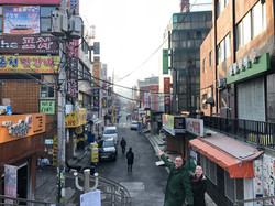 Gadestemning fra Seoul
