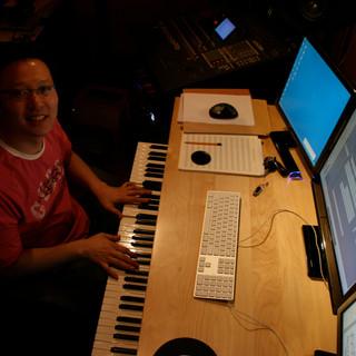 Shawn Choi in Studio