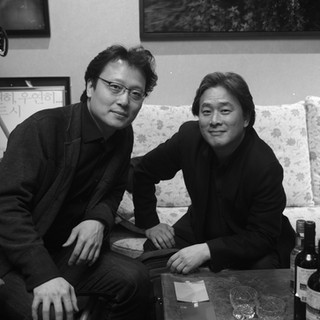 Composer Shawn Choi and Directo Chan-Wook Park.jpeg