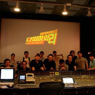 Composer Shawn Choi, Director Seung-Wan Ryu and the Film Staffs