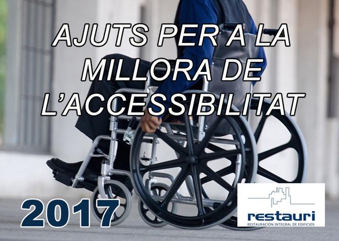 Convocatòria d'ajuts per a la millora de l'accessibilitat en edificis d'ús residencial
