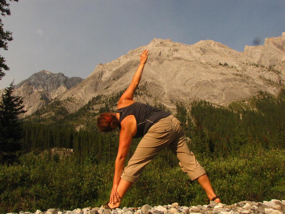 Each evening in the back country, I take some time alone to sit and think and stretch and maybe practice a little yoga. I mostly just need to reflect on what we've seen and what that might mean to the data.