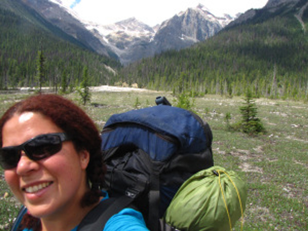 Day one of a solo backpacking weekend in Yoho.