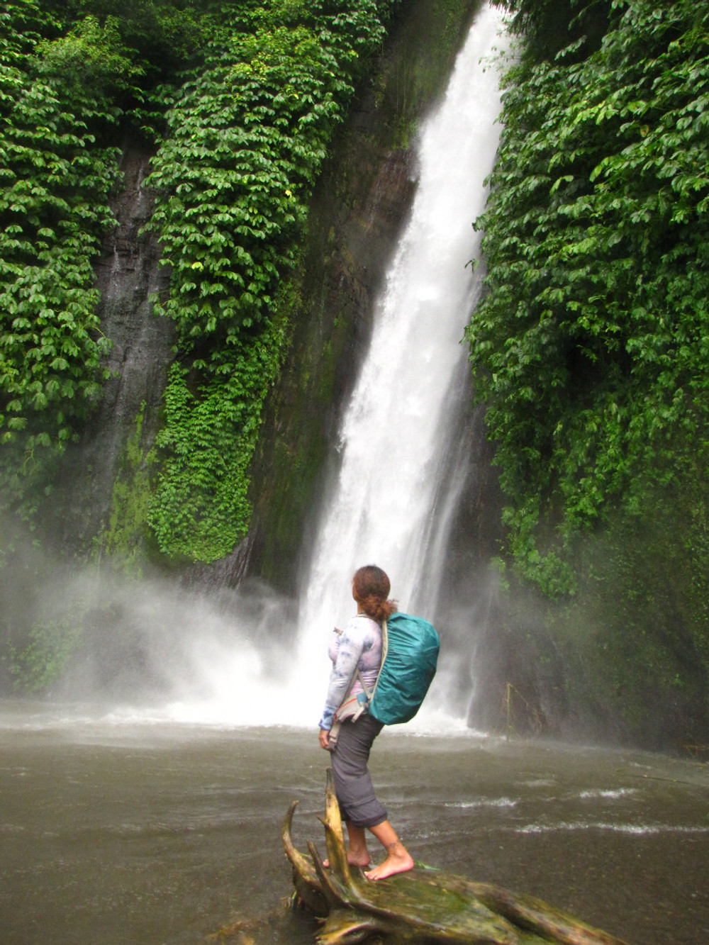 Take a break from writing and go get a coffee - or go for a short hike to a local waterfall. I choose the latter!!