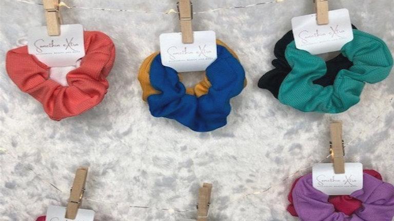 Ribbed Wrislet Scrunchie Sets