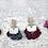 Thumbnail: Velvet Wrislet Scrunchie Set