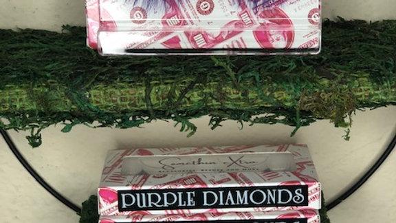 Purple Diamonds