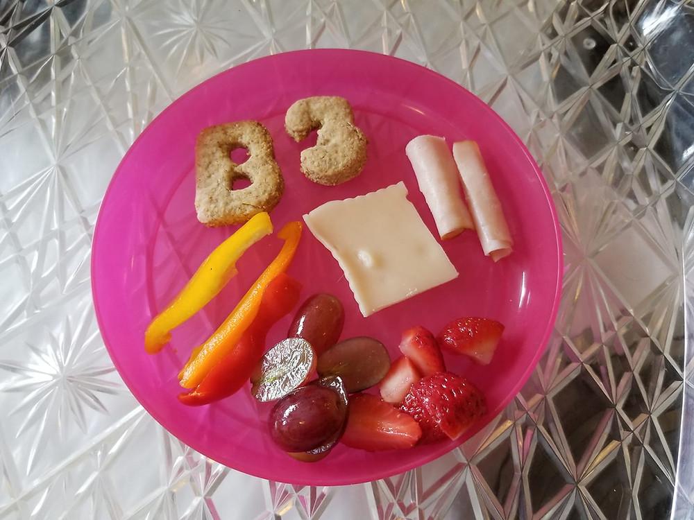 Welcome to preschool week snack
