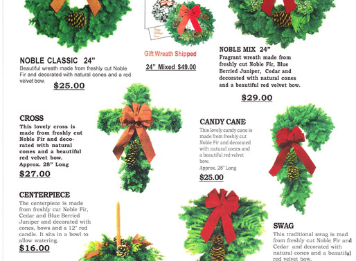 Annual Evergreen Sales at RPCP