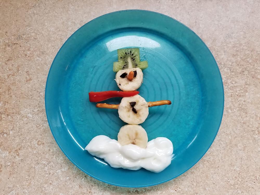 Snow week snack