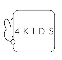 4KIDS_Logo square Black white.png