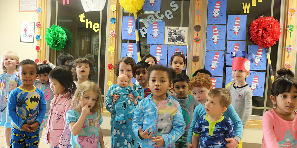 Dr. Seuss' Week of Fun - Primary Room - March 1st - March 5th.