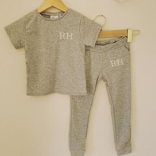 Personalised Jogger & T-shirt Set