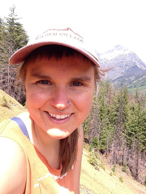 Allie in wilderness