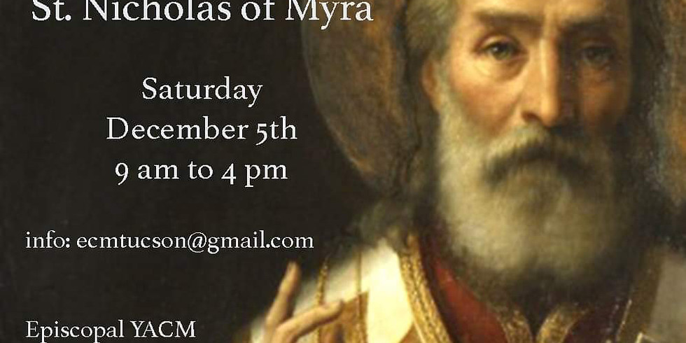 Canceled: St. Nicholas of Myra Distance Quiet Day