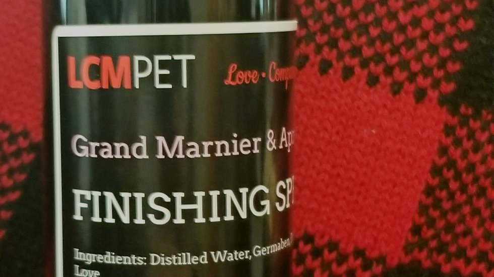 Grand Marnier and Apricot Finishing Mist 8oz