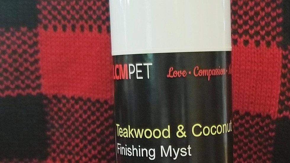 Teakwood and Coconut Finishing Mist 8oz
