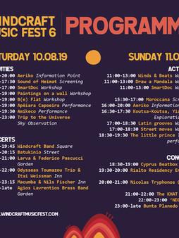 WMF6 Programme