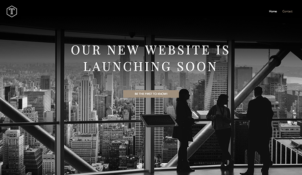 Business website templates – Business Coming Soon