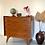 Thumbnail: Commode vintage 4 tiroirs