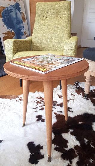Table d'appoint 60's restaurée