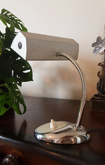 Lampe de notaire authentique 50's
