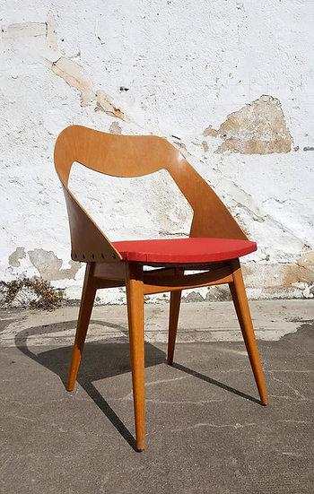 Chaise scandinave bois cintré
