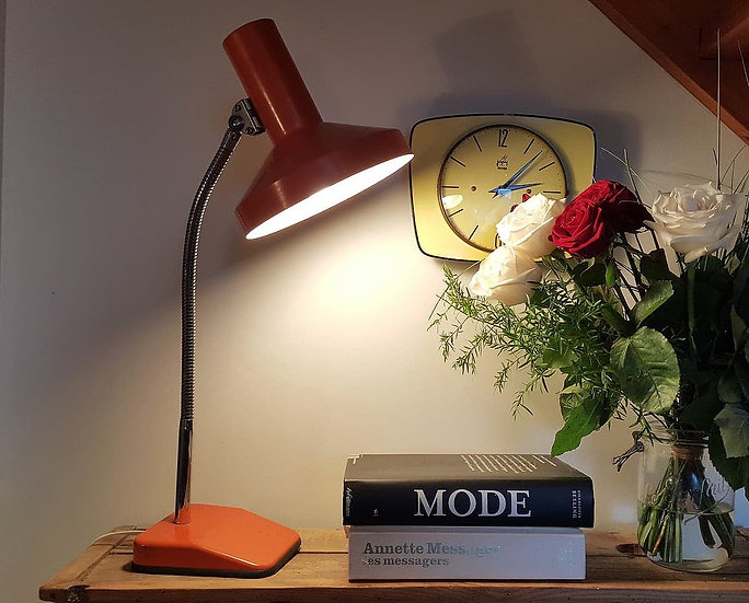 Lampe flexible orange